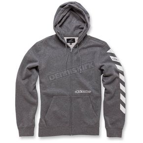 Alpinestars Heather Gray Debrief Fleece Hoody - 103653009-111XL