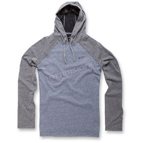 Alpinestars Heather Gray Quest Long Sleeve Knit Hoody - 103642011-1112X