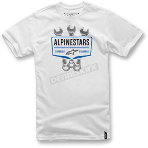 Alpinestars White Shift T-Shift  - 1036-72010-20M