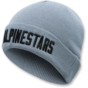 Alpinestars Gray Word Cuff Beanie - 103681027-11