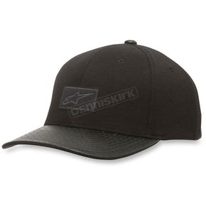 Alpinestars Black Gentry Hat - 103681002-10SM