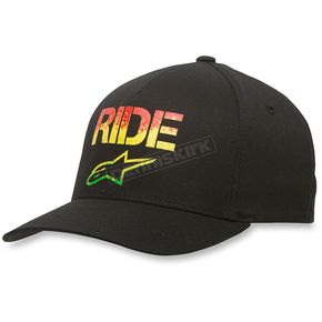 Alpinestars Black Ride Speckle Hat - 103681008-10LXL