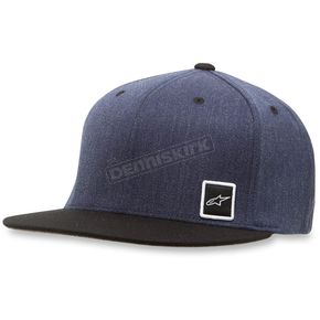 Alpinestars Navy Descent Hat - 103681020-70LXL