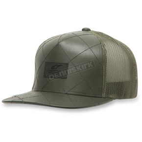 Alpinestars Army Green Criss Hat - 103681003-69