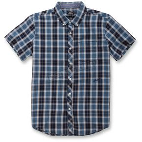 Alpinestars Harbor Blue Variance Short Sleeve Shirt - 101632000742L