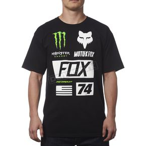 Fox Monster Energy Union T-Shirt - 19362-001-M