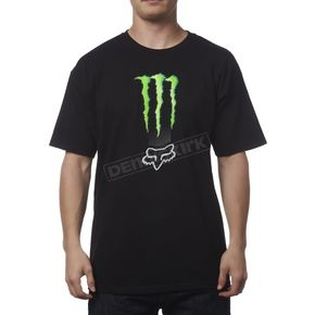 Fox Monster Energy Zebra T-Shirt - 19363-001-M