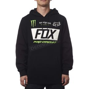 Fox Monster Energy Paddock Pullover Hoody - 19367-001-S