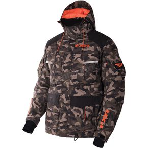 FXR Racing ARmy Urban Camo/Orange Excursion Jacket - 170013-7630-10
