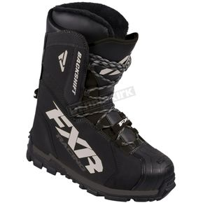 FXR Racing Black Backshift Core Boots - 170704-1000-12
