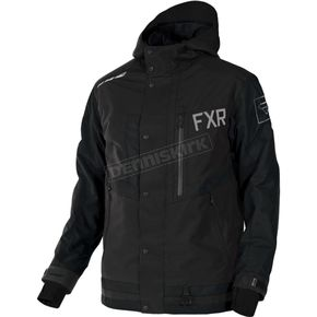 FXR Racing Black Caliber Jacket - 170021-1000-10