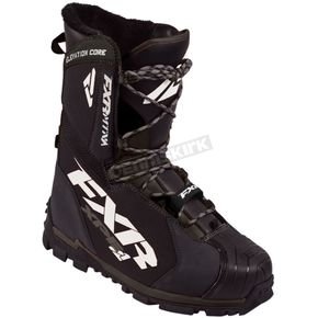 FXR Racing Black Elevation Lite Core Boots - 170703-1000-11