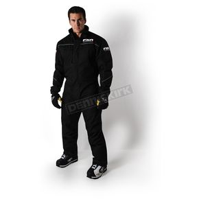 FXR Racing Black Hardware Monosuit - 172808-1000-04