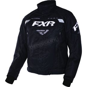 FXR Racing Black Octane Jacket - 170006-1000-13