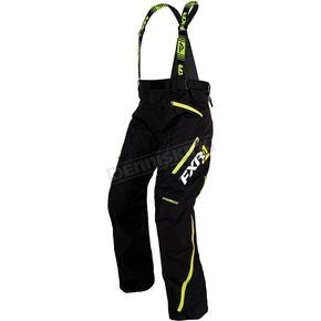 FXR Racing Black/Hi-Vis Renegade Lite Pants - 170109-1065-13
