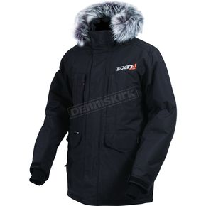 FXR Racing Black Svalbard Parka - 170022-1000-16