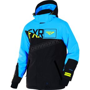 FXR Racing Black/Blue Squadron Jacket - 170023-1040-07
