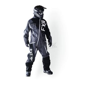 FXR Racing Black/Charcoal/White Ranger Instinct Monosuit - 172801-1008-16