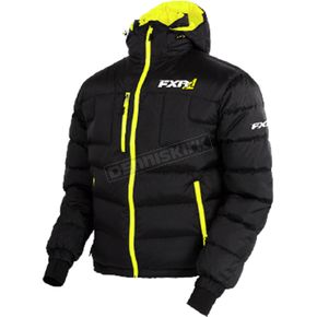 FXR Racing Black/Hi-Vis Elevation Down Jacket - 170030-1065-22