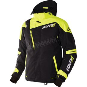 FXR Racing Black/Hi-Vis Mission X Jacket - 170008-1065-19