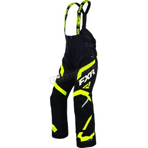 FXR Racing Black/Hi-Vis Team FX Pants - 170105-1065-13