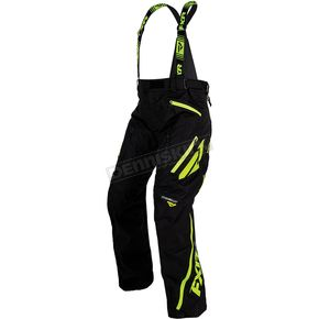 FXR Racing Black/Lime Mission X Pants - 170112-1070-19