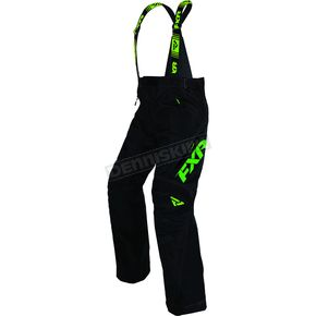 FXR Racing Black/Lime X System Pants - 170110-1070-19