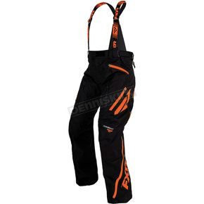 FXR Racing Black/Orange Mission X Pants - 170112-1030-13