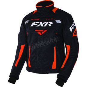 FXR Racing Black/Orange Octane Jacket - 170006-1030-16