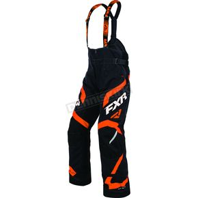 FXR Racing Black/Orange Team FX Pants - 170105-1030-10