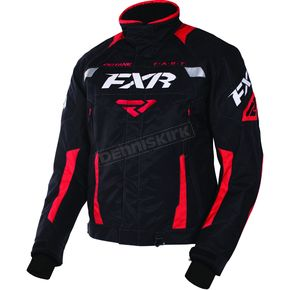FXR Racing Black/Red Octane Jacket - 170006-1020-10