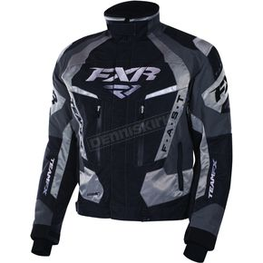 FXR Racing Black/Titanium/Charcoal Team FX Jacket - 170019-1009-16