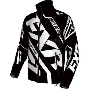 FXR Racing Black/White Cold Cross Race Ready Jacket - 170029-1001-19