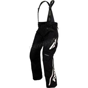 FXR Racing Black/White Mission X Pants - 170112-1001-22