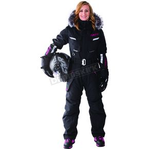 FXR Racing Women's Black Svalbard Monsuit - 172900-1000-16