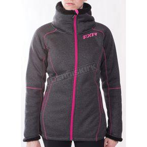 FXR Racing Women's Clipper Sherpa Tech Zip Up - 171000-0890-08