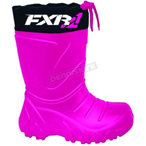 FXR Racing Youth Fuchsia Svalbard Boot - 170701-9000-32