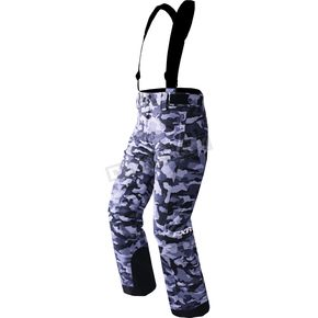 FXR Racing Youth Gray Urban Camo Squadron Pants - 170500-0600-16