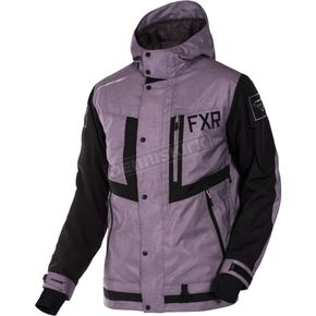 FXR Racing Mid Gray Heather/Black Caliber Jacket - 170021-0610-16