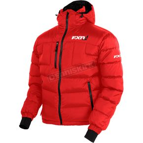 FXR Racing Red Elevation Down Jacket - 170030-2000-19