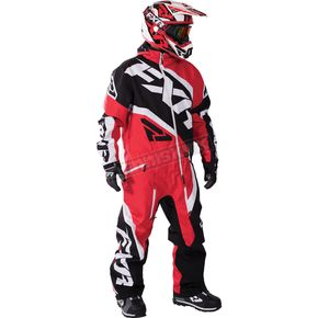FXR Racing Red/Black/White Insulated CX Monosuit - 172810-2010-22