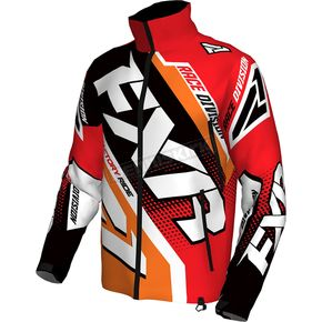 FXR Racing Red/Orange/Black/White Cold Cross Race Ready Jacket - 170029-2030-13