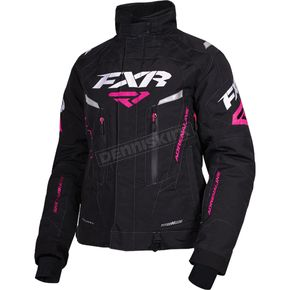 FXR Racing Women's Black Adrenaline Jacket - 170210-1000-14