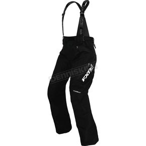 FXR Racing Women's Black Vertical Pro Pants - 170304-1000-18