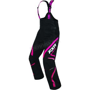 FXR Racing Women's Black/Fuchsia Team Pant - 170301-1090-14