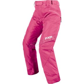 FXR Racing Women's Electric Pink Fresh Pants - 170302-9400-04