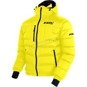 FXR Racing Yellow Elevation Down Jacket - 170030-6000-16