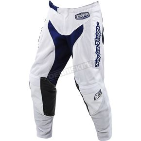 Troy Lee Designs Youth White/Navy GP Air Starburst Pants - 206013136