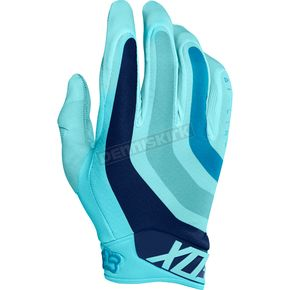 Fox Ice Blue Flexair Seca LE Gloves - 18229-231-M
