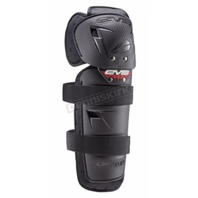 EVS Sports Youth Black Option Knee Guard - OPTK16-BK-Y
